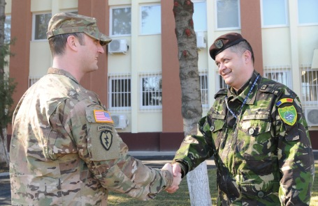 4th ID strengthes ties with Romanian NFIU