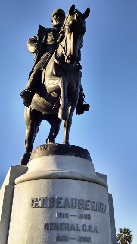 Beauregard's Statue New Orleans