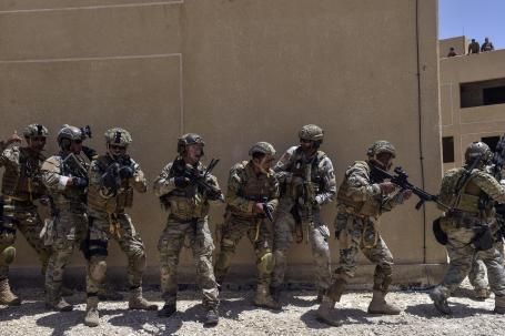 US, Italy and Jordan special operations conduct combat search and rescue