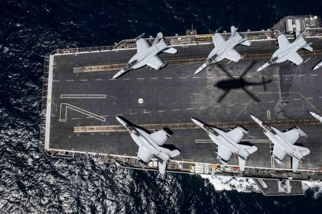 FRIFO 5-5-207 F-18s on USS Theodore Roosevelt