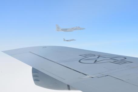 Mildenhall and Lakenheath aircraft on way to Arctic Challenge