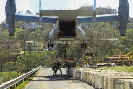 Guajataca Dam strengthening operations