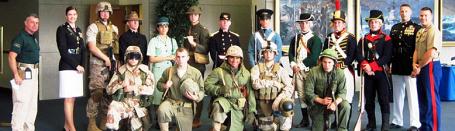 USMC uniforms