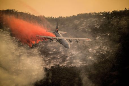146th Airlift Wing continues fighting Thomas Fire.
