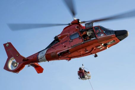 Coast Guard medevacs ill fisherman