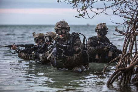 Charlie Company 2d Reconnaissance Battalion Dive Insertion Training Key West