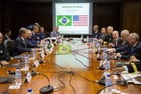 SECDEF Mattis in Brazil