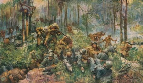 Belleau Wood painting