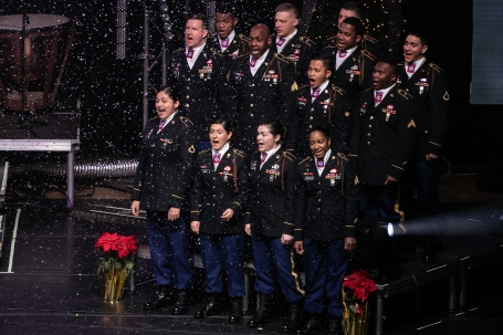 XMAS No. 12 82nd Airborne singers
