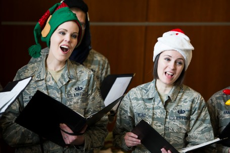 USAF Band Singing Sergeants Perform at Joint Base Andrews