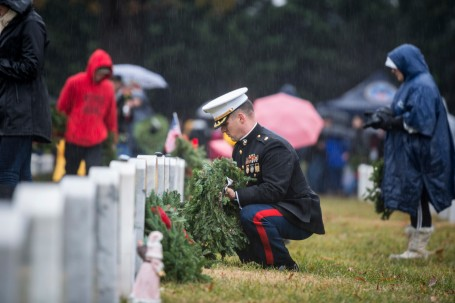 27th National Wreaths Across America Day at Arlington National Cemetery