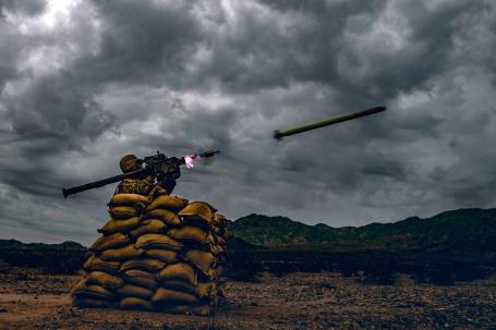Stinger Missile Exercise