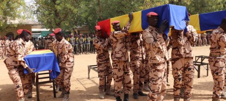 Chad funeral MINUSMA
