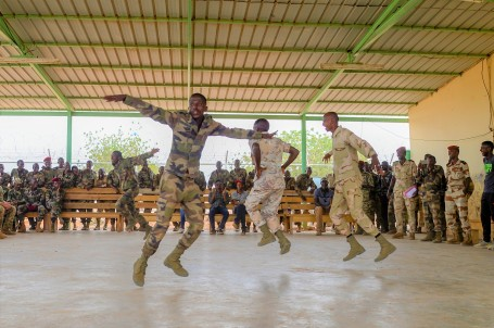 CJTF-HOA Reinforces Commitment to Djibouti's Rapid Intervention Battalion