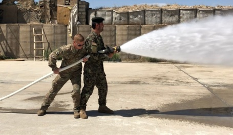 NATO Advising in Faryab Province